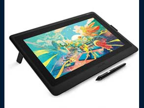 Make it on Wacom Cintiq Wacom Cintiq is a creative pen display that helps you bring your ideas to life on screen. Vibrant color, HD clarity and ergonomic design combine with the super-responsive Pro Pen 2 to take your work to the next level.