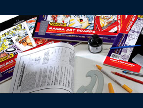 Paper is specially formulated for use with ink, markers, felt-tip pens and pencils. Heavyweight papers will not bleed through or buckle on large inked areas. Excellent resistance to erasing and scraping. Smooth texture ideal for scanning. Can also be used on a light box.