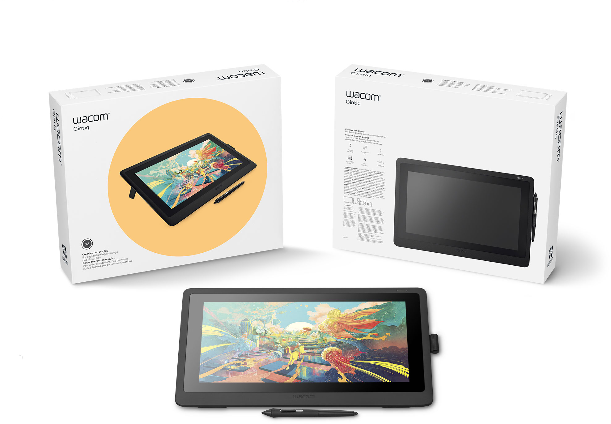 Great offer to start your new school year with Wacom Cintiq 16FHD! It can be yours within a few days as long as our stock reach.